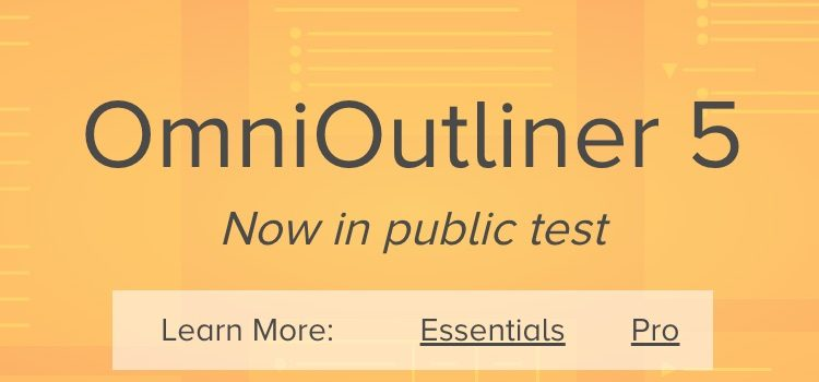 OmniOutliner - outlining & writing for Mac, iPhone, and iPad - The Omni Grou
